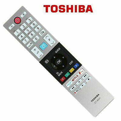 Genuine Toshiba CT-8541 CT8541 Remote Control for 2018-19 NETFLIX Smart LED TV's