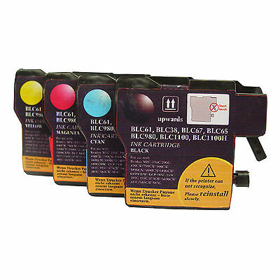 Compatible ink Cartridge for Brother LC11 (Black/Cyan/Magenta/Yellow) 11 Compatible Magenta Ink Cartridge