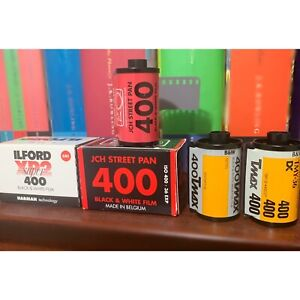 35mm film negative b&w 5 roll bundle 36exp