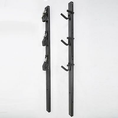 3 Place Weed-Eater ,Edge Trimmer Rack(Lockable) - OPEN Landscape Trailer