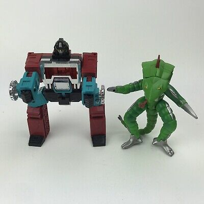 1984 Preceptor Transformers G1 Takara Autobot WIth 90s Power Rangers Pythor