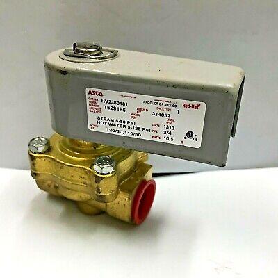Hobart E270329-1 Hot Water Steam Solenoid Valve 34 Npt 12060 Ac Hv2360181