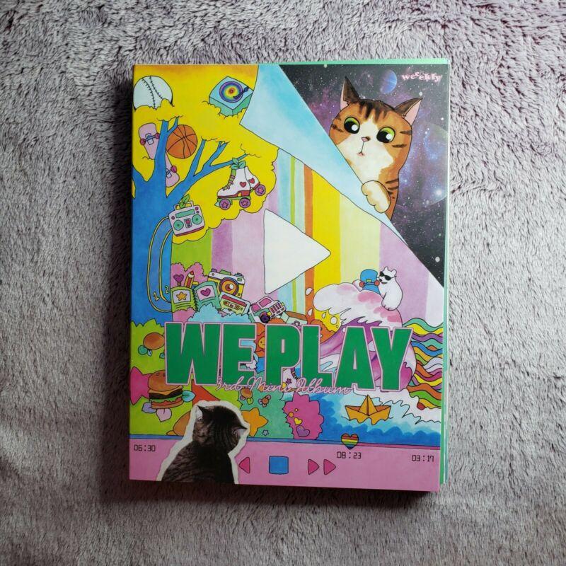 Weeekly - 3rd Mini Album [We Play]   US Seller
