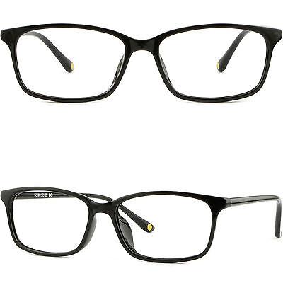 Thin Light Bendable Plastic Frames Men Women Prescription RX Glasses Shiny (Bendable Prescription Glasses)