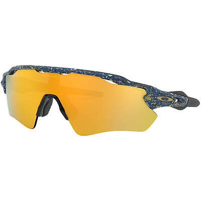 Oakley Radar EV Path Splatter Poseidon/24K Iridium Sunglasses New in Box