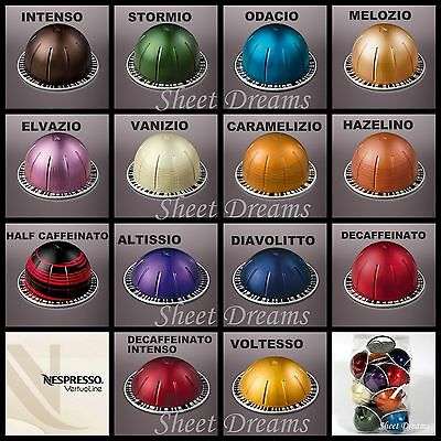 Nespresso VertuoLine Coffee and Espresso Capsules Sealed Sleeves and Samplers