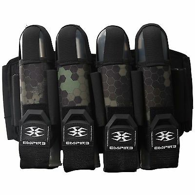 Empire Action Pack FT - Harness - Paintball - 4+7 - Green Hex Action Pack Paintball Harness