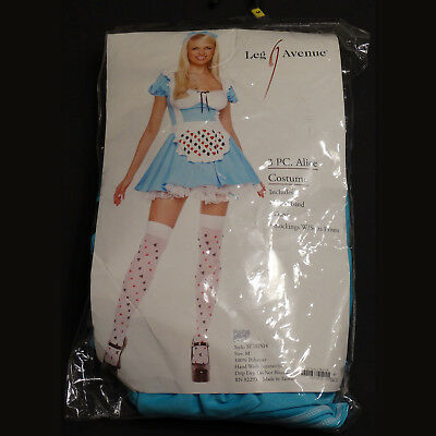 Sexy Alice in Wonderland 3 Piece Halloween Costume – Size Medium – Lightly Used