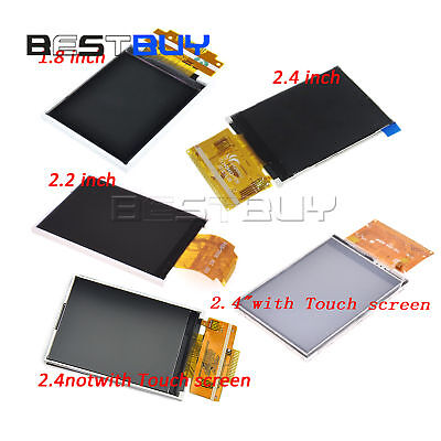 1.82.22.4 Spi Serial Tft Lcd Screen 128x160240x320 With Touch Panel
