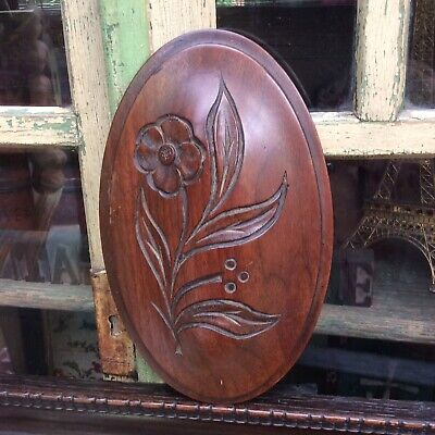 *AnTiQuE CaRvEd WooDeN DeCoRaTiVe PaNeL InSeRt~iDeaL UpCyCLe~ReNoVaTiOn ProJeCt*