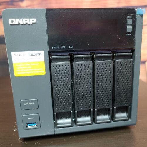 QNAP NAS TS-453A w/ 4 Toshiba x300 4TB (16TB total), quad core 1.66ghz, 4x 1GbE