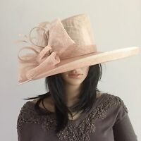 Nigel Rayment Nude Wedding Hat Occasion Mother Of The Bride Formal Races - nigel rayment - ebay.co.uk