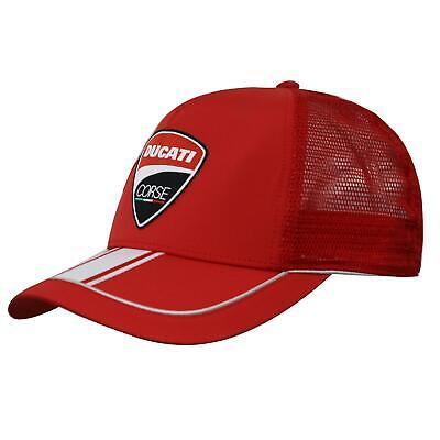 Puma Mens Unisex Ducati Corse Cap Red Casual Hat 602522 01