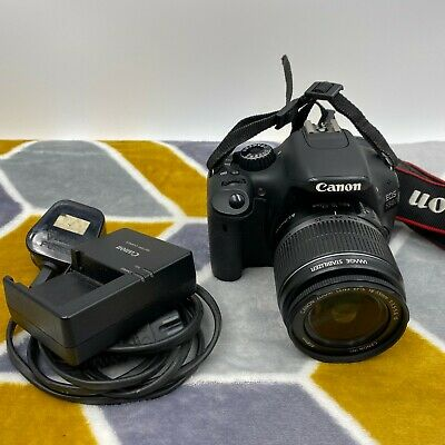 Canon EOS 550D 18.0MP Digital SLR Camera with EF-S IS 18-55mm Lens