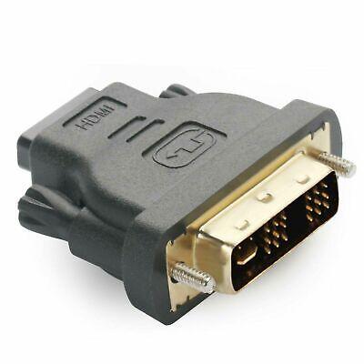 Adaptador de HDMI a DVI DVI-D 18+1 Macho a HDMI Hembra Conector...