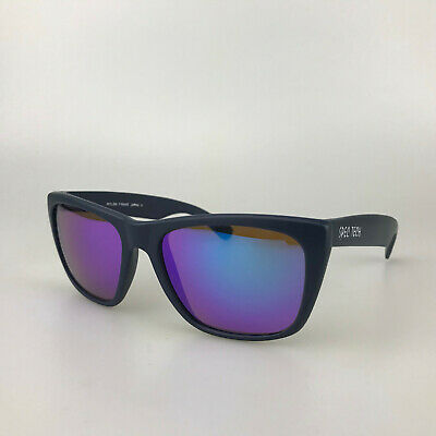 Spec Tech Sunglasses Navy Blue Retro Square Shades Vintage 80's Made in (Blue Tech Sunglasses)