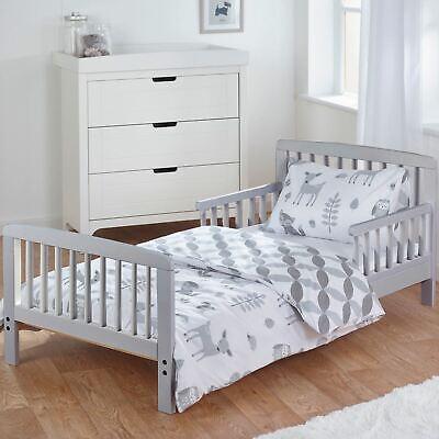 Woodland Tales 3 Piece Junior Toddler Bedding Set Duvet Set Kids Polycotton
