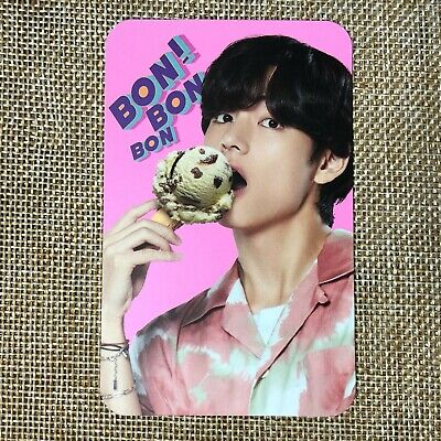 BTS V TAEHYUNG [ Baskin Robbins Promo Official Limited Photocard ] New /+Gift