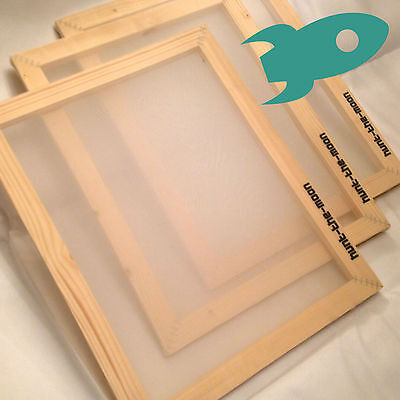 Screen Printing Frames - Choose Size Mesh Count - Art Silk Screen Printmaking