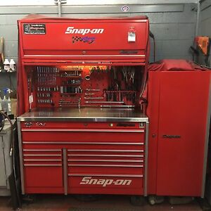 Snap on toolbox / coffre d'outils Snap on