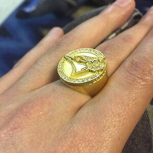 10k gold bluejays ring