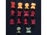 Random old generation figures Gogo/'s Crazy Bones Retro Classic Mystery Bundle