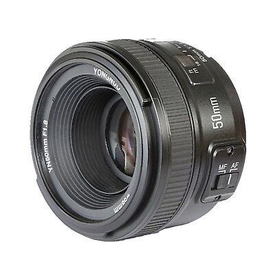 Yongnuo 50mm F1.8 1:1.8 Standard Prime Lens Auto Manual Focus AF MF for Nikon