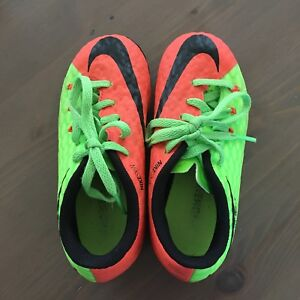 Size 10 Nike Child soccer cleats