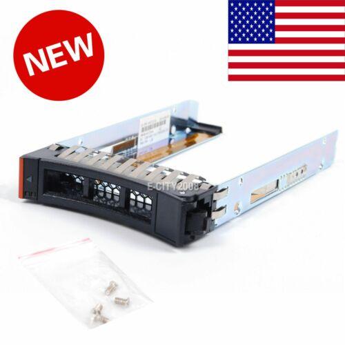 Lot of 10 IBM Storewize V3700 V3500 2.5/'/' Hard Drive Tray Caddy 45W8687 45W2107