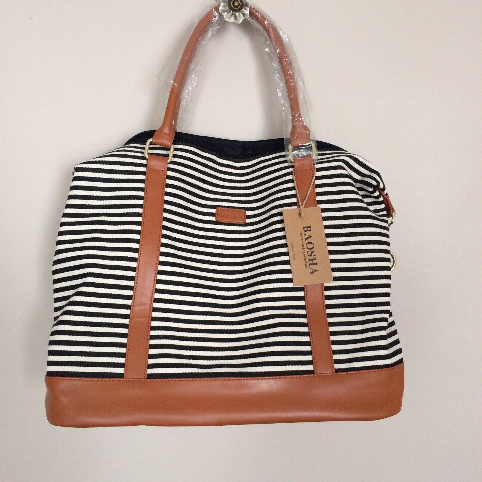 Women's Baosha Travel Handbag Shoulder Duffel Tote Carry On