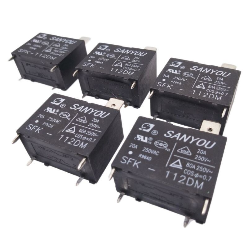 US Stock 5pcs SFK-112DM SFK-112 20A 250VAC DIP-4 Relay