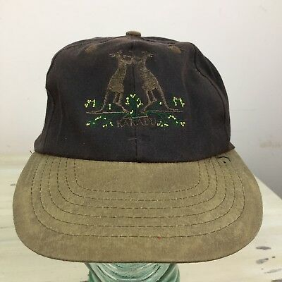 KAKADU - Brown & Tan Strapback Waxed Cotton Outdoors Hiking Hat Cap - MUST SEE! for sale  Saint Louis