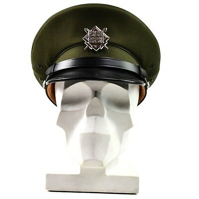 fa2d45c57b2 Original Czech army peaked cap. olive Air forces military parade cap with  badge