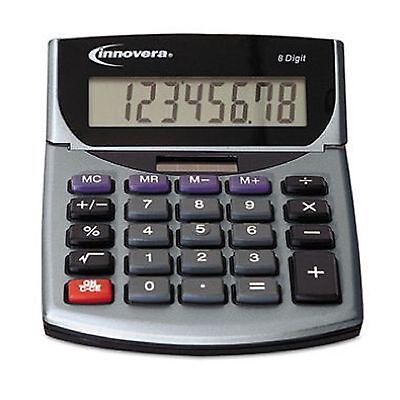 Innovera 15925 Portable Minidesk Calculator 2 Ct.