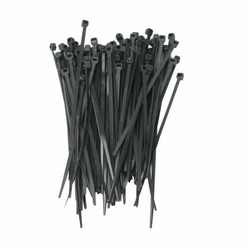 "100 Pack Lot Pcs - 8"" Inch UV Resistant Nylon Cable Zip Wire"