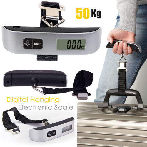 HOT Portable Electronic Digital Weigh Scale Handheld Travel Suitcase Luggage
