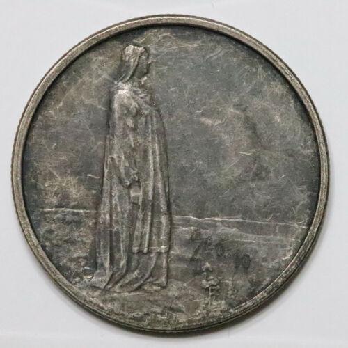 1914 Norway Silver 2 Kroner. XF+, nice original patina. - 466