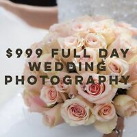 Professional Wedding Photography for $999