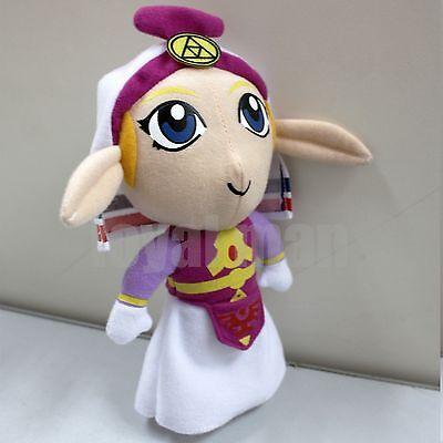 "7"" The Legend of Zelda PRINCESS Plush Doll Handmade Toy Lovely US ship Fast New"