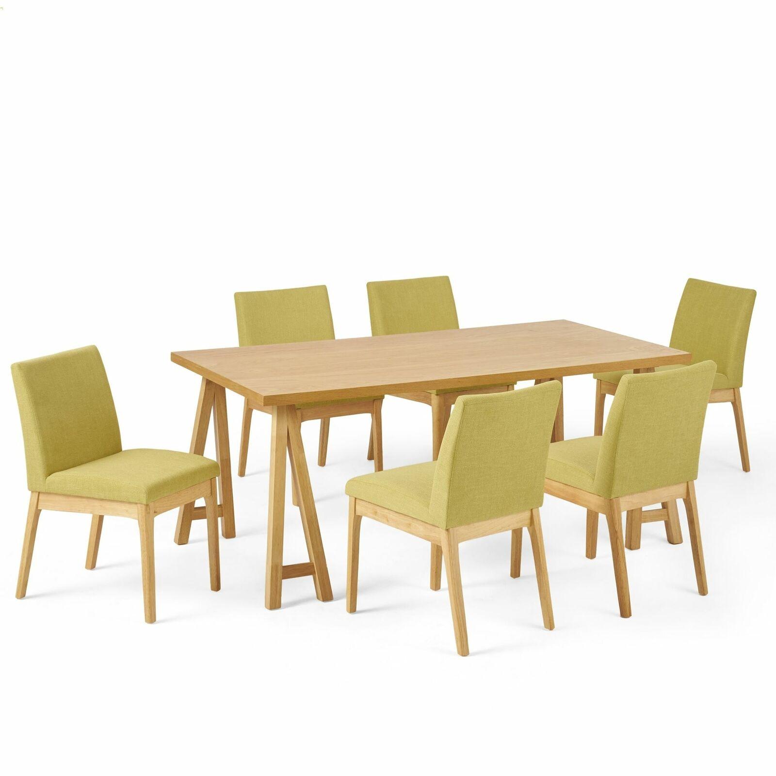 Elsinore Mid-Century Modern 7 Piece Dining Set Dining Sets