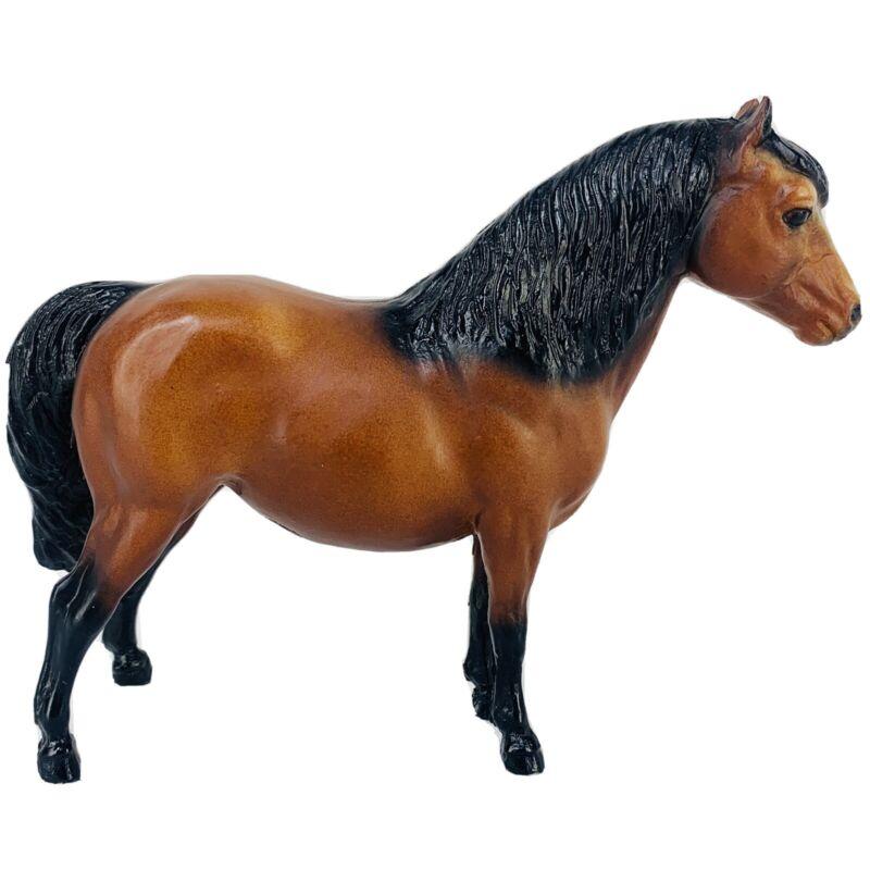 Vintage Breyer Collectible Horse Shetland Pony #23 Bay Bald Face Black Points