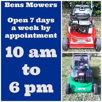 BENS MOWERS SUNBURY HUGE RANGE OF MOWERS FROM $100 C/W WARRANTY Sunbury Hume Area Preview