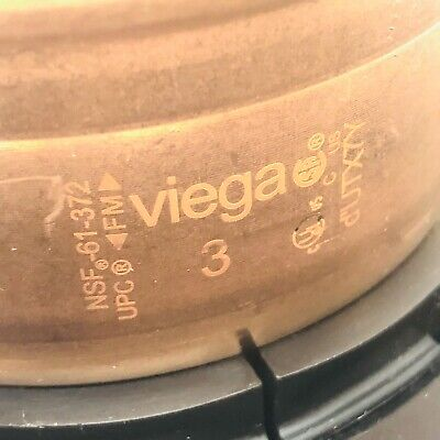 Viega Propress 20858 3 Xl C Adapter Flange Zero Lead