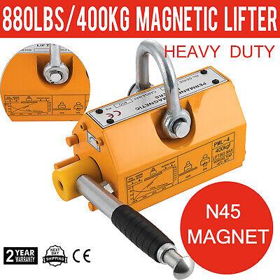 400 Kg Magnetic Lifter Steel Heavy Duty Crane Hoist Lifting Magnet 880 Lb