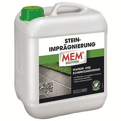 MEM Stein-Imprägnierung 5 Liter