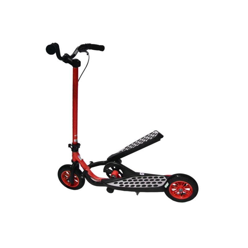 Zike Fly Range Motion Portable Scooter Stepper Bike for Youth - Red