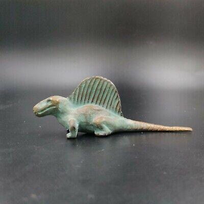 Vintage Bronze SRG Co Dimetredon Figurine