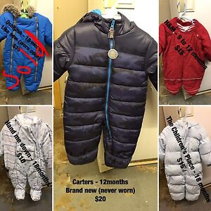 Boy snow suits