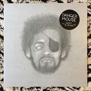 DANGER MOUSE The Grey Album LP IMPORT 500 MADE Jay Z Beatles Gray RARE Vinyl  NEW