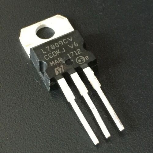 10PCS LM7809 L7809 L7809CV 7809 Linear Voltage Regulator 9V 1.5A TO-220 USA